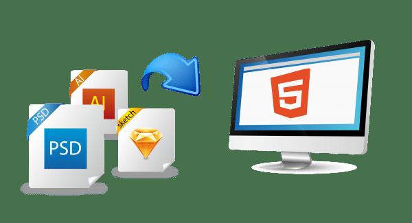 Van PSD naar HTML 5