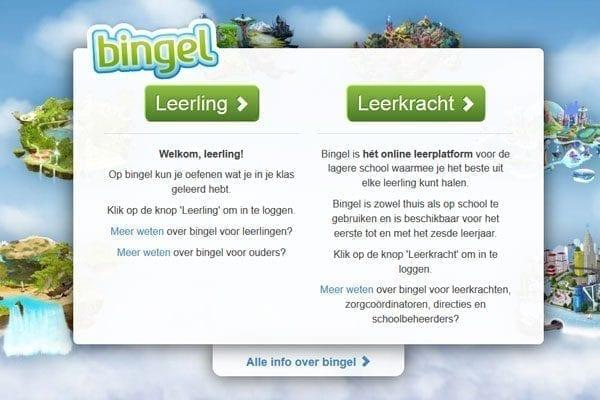 HTML Slicing voor Bingel