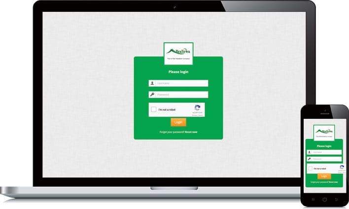 responsive HTML voor Bralirwa